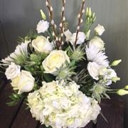 Delivery of funeral flowers in Prince Rupert
